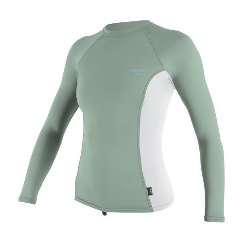 O'Neill---Women's-UV-shirt---long-sleeve---mint-/-white