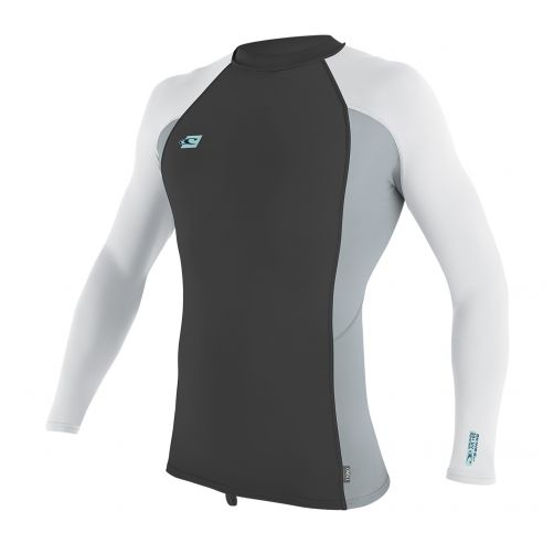 O'Neill---Men's-Premium-UV-shirt---long-sleeve---grey-/-white