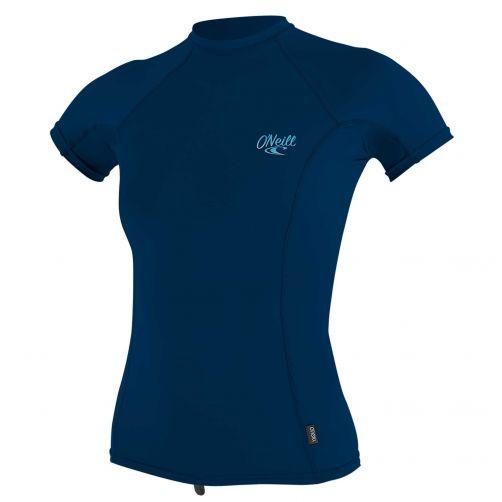 O'Neill---Women's-UV-shirt---Short-sleeves---Premium-Rash---Abyss