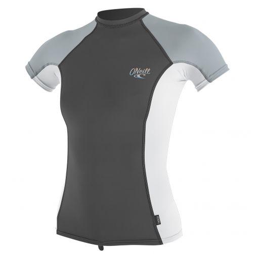 O'Neill---Women's-UV-shirt---short-sleeve---white-/-grey