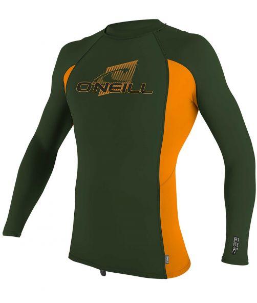 O'Neill---Kids'-UV-shirt---Longsleeve---Premium-Rash---Dark-Olive