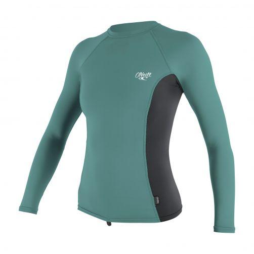 O'Neill---Women's-UV-shirt---long-sleeve---euca-/-graphite