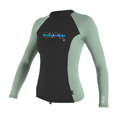 O'Neill - Girls' UV T-shirt - long-sleeve - midnight/freshmint - Front