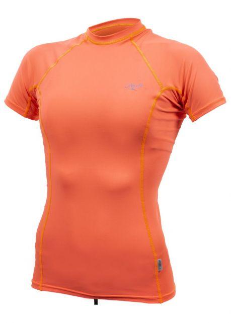 O'Neill---Women's-UV-shirt---Short-sleeves---Premium-Rash---Papaya