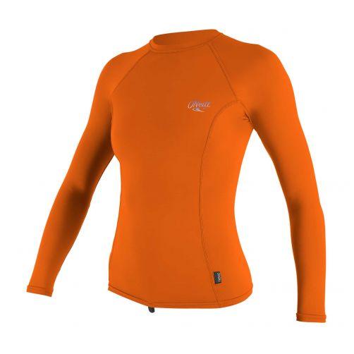 O'Neill---Women's-UV-shirt---Longsleeve---Premium-Rash---Papaya