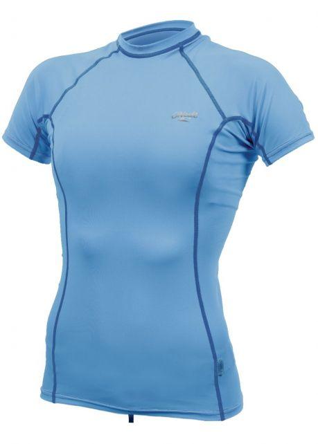 O'Neill---Women's-UV-shirt---Short-sleeves---Premium-Rash---Periwinkle