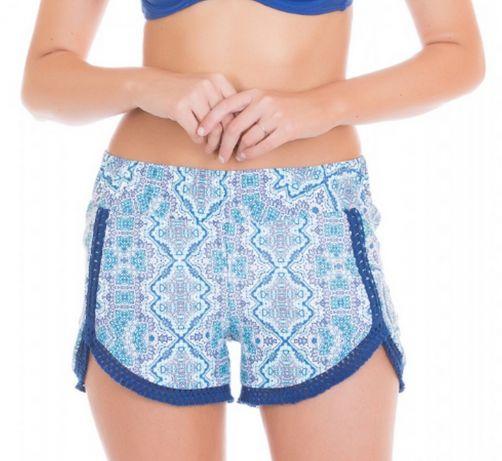 Cabana-Life---UV-resistant-Shorts-for-ladies---Blue/White