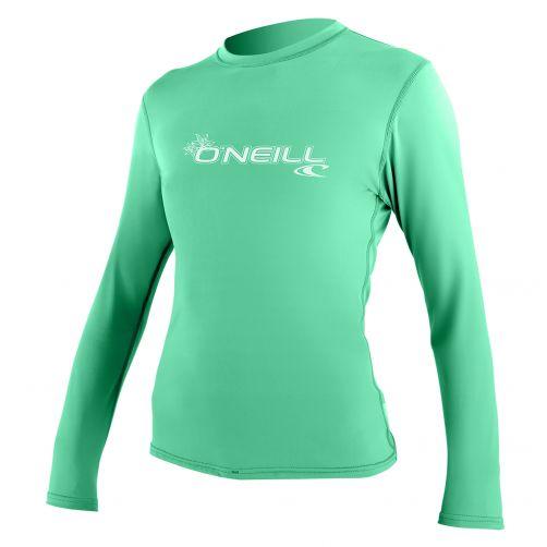 O'Neill---Women's-UV-shirt---long-sleeve-slim-fit---seaglass