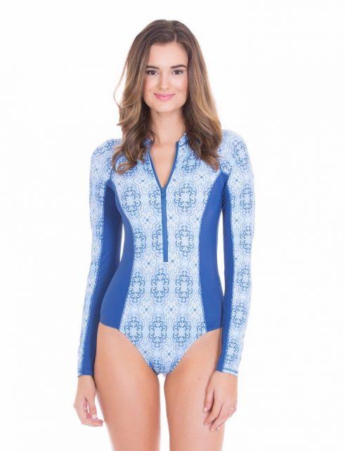 Cabana-Life---UV-resistant-Uni-Suit---Blue/White