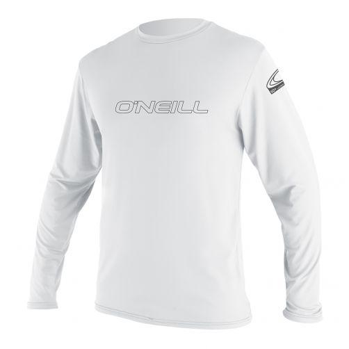 O'Neill - Men's UV shirt - long-sleeve - Basic skins - white - Front
