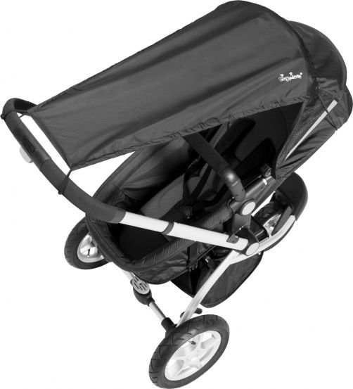Playshoes---UV-Sun-Cover-for-Buggies--Black