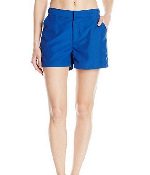 Cabana-Life---UV-resistant-Microfiber-Shorts-for-ladies---Navy