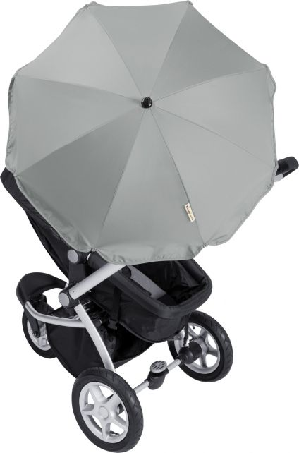 Playshoes---UV-Parasol-for-Buggies-Grey
