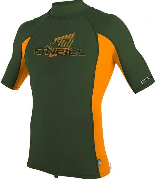 O'Neill---Kids'-UV-shirt---Turtleneck---Premium-Rash---Dark-Olive