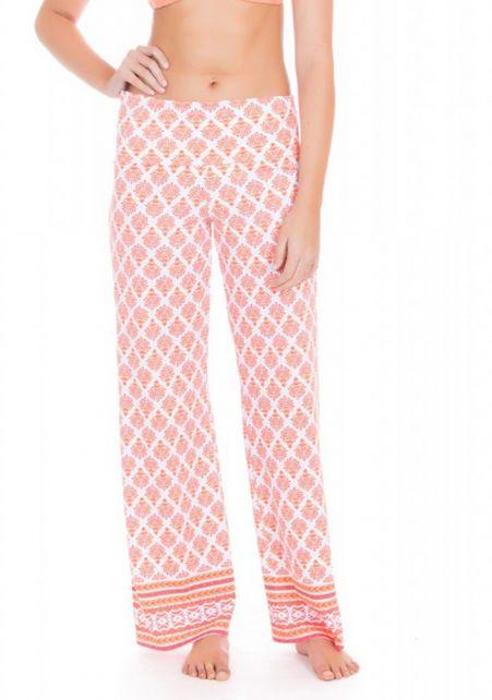 Cabana-Life---UV-resistant-beach-pants-for-ladies---Orange/White