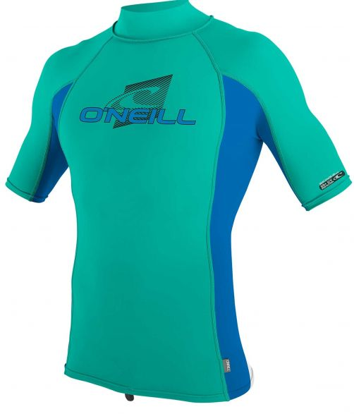 O'Neill---Kids'-UV-shirt---Turtleneck---Premium-Rash---Baltic-Green