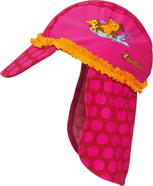 Playshoes - UV children sun hat - Mouse pink - 900