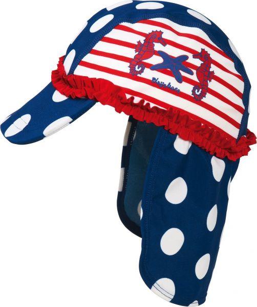 Playshoes - UV children sun cap - Sea Horse - 900