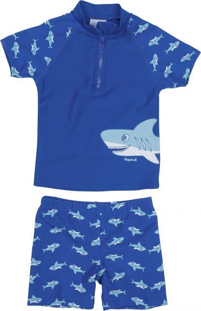Playshoes - UV Swim Set Kids- Shark - 0