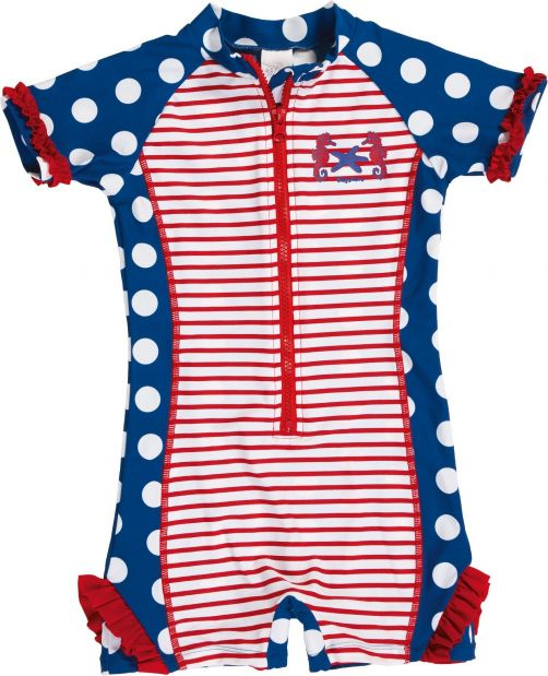 Playshoes - One Piece UV Swimsuit Kids- Sea Horse - 900