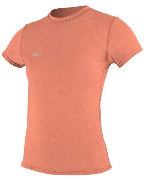 O'Neill---Women's-UV-shirt---Short-sleeves---Hybrid-Sun---Grapefruit