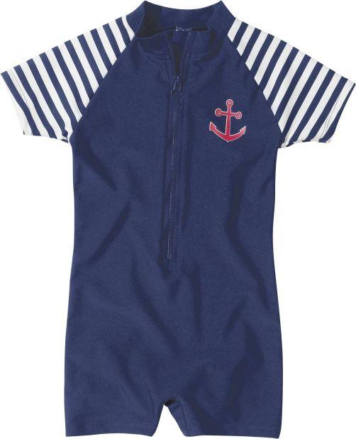 Playshoes - One Piece UV Swimsuit Kids- Maritime - 0