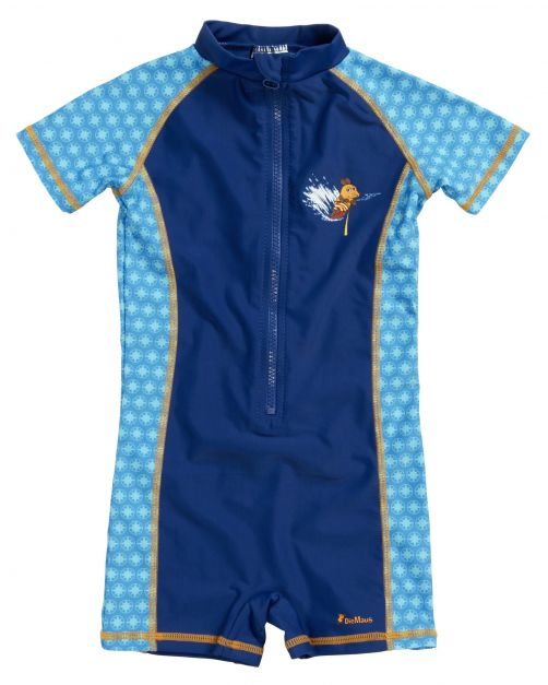 Playshoes - One Piece UV Swimsuit Kids- Mouse - 0