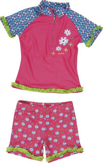Playshoes - UV Swim Set Kids- Flower - 0