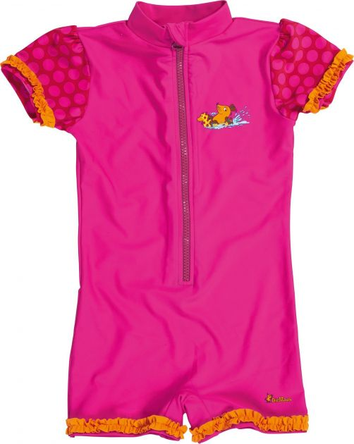Playshoes - One Piece UV Swimsuit Kids- Mouse pink - 900
