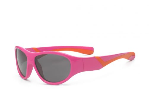 Real-Kids-Shades---UV-sunglasses---Kids-4+-yr---Discover---Pink/orange