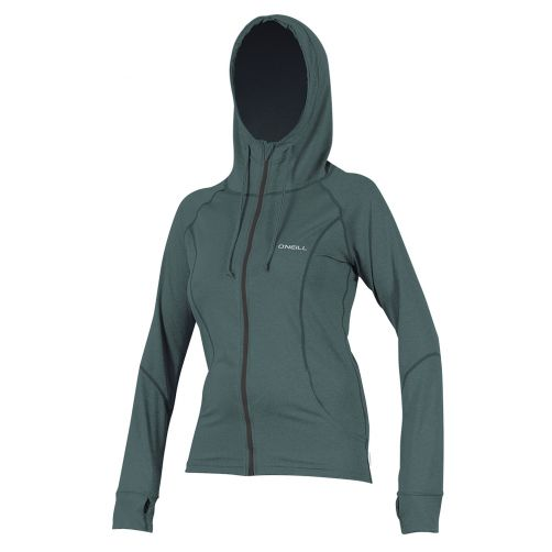 O'Neill---Women's-hooded-UV-jacket---slim-fit---eucalyptus