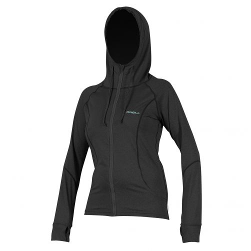 O'Neill---Women's-hooded-UV-jacket---slim-fit---black