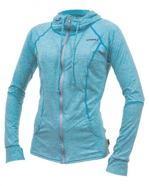O'Neill---Women's-UV-Hoodie---Longsleeve---Hybrid-Sun---Turquoise