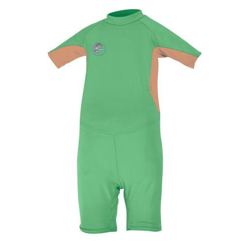 O'Neill - Babies' UV swimsuit - slim fit - green/orange - Front