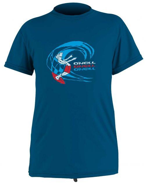 O'Neill---UV-shirt-for-boys---Short-sleeves---O'Zone-Sun---Ultra-Blue