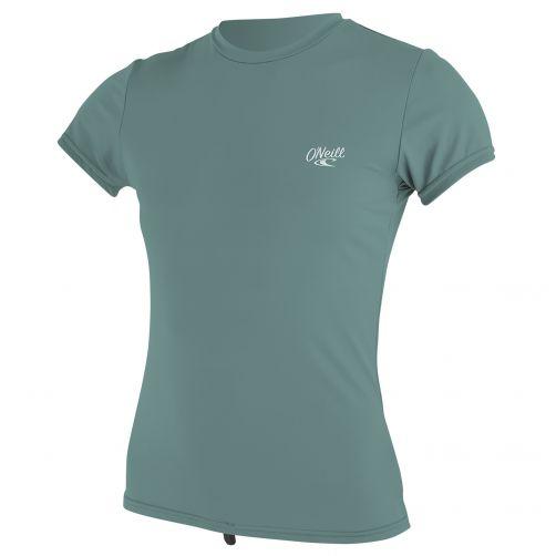 O'Neill---Women's-UV-swim-shirt---short-sleeved---eucalyptus