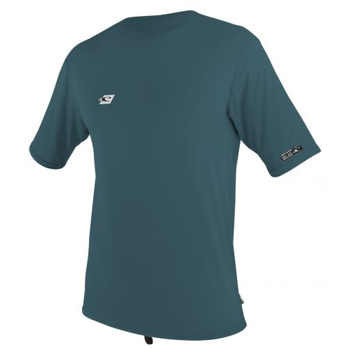 O'Neill - Kids' UV swim shirt short sleeved - teal - Front