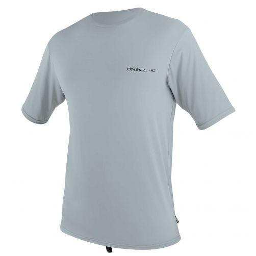 O'Neill---Men's-UV-shirt---Short-sleeves---Ltd-Striped-Hybrid---Cool-Grey
