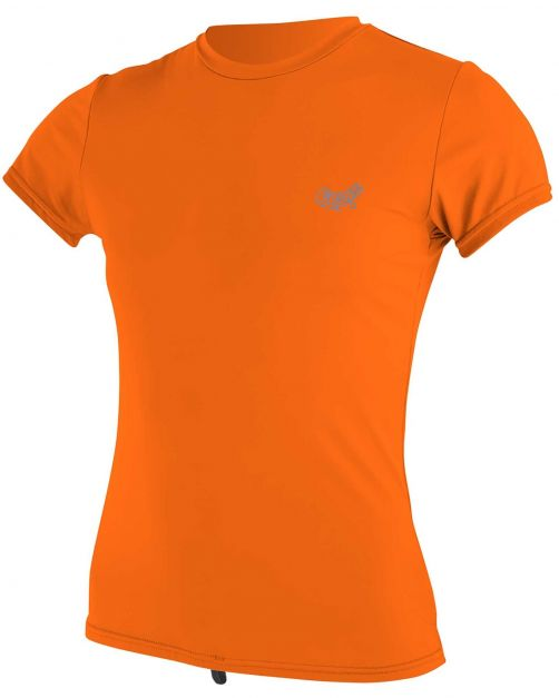 O'Neill---Women's-UV-shirt---Short-sleeves---Premium-Sun---Papaya