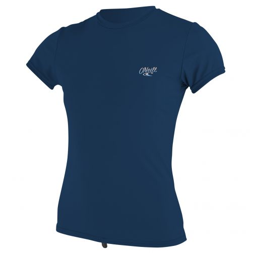 O'Neill---Women's-UV-swim-shirt---short-sleeved---navy