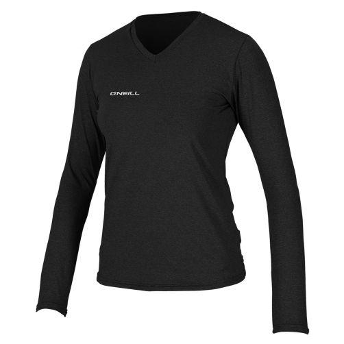 O'Neill - Women's UV swim shirt - long sleeved - black - Front