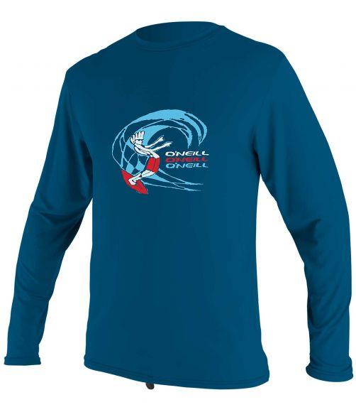 O'Neill---UV-shirt-for-boys---Longsleeve---O'Zone-Sun---Ultra-Blue