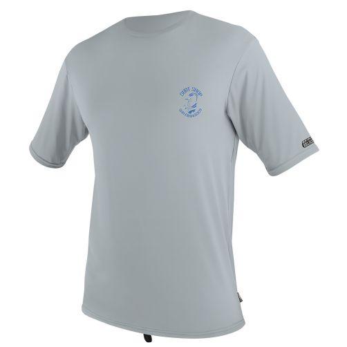 O'Neill---Men's-UV-swim-shirt---short-sleeved---light-grey-