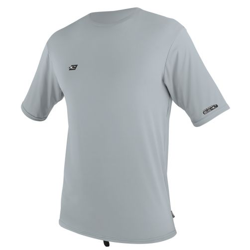 O'Neill---Men's-UV-swim-shirt---short-sleeved---light-grey
