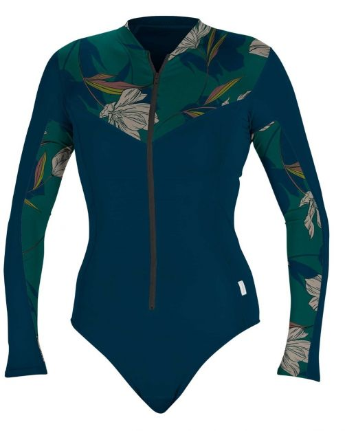 O'Neill---Women's-UV-Surfsuit---Longsleeve---French-Navy
