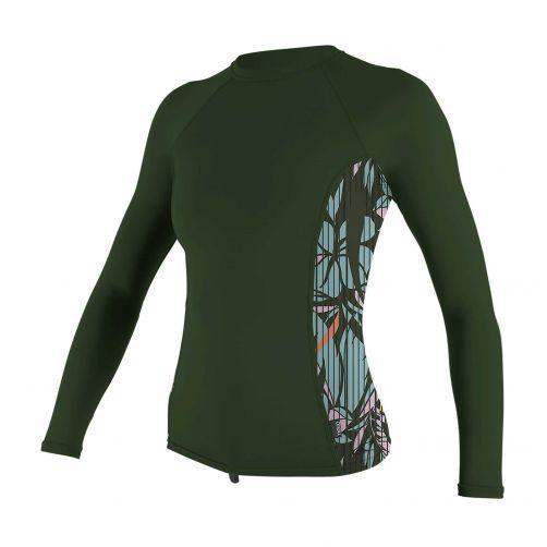O'Neill---Women's-UV-shirt---Longsleeve---Rash-Guard---Dark-Olive