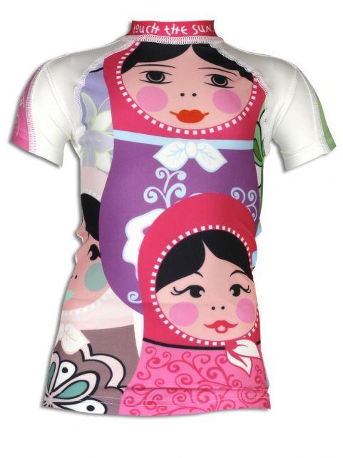 4BB2 - UV Shirt Kids Short Sleeve- Poupee Russe - 0