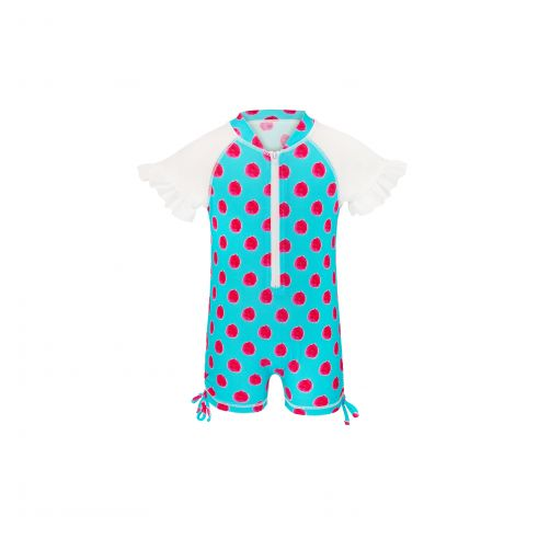 Snapper Rock - Aquaberry SS Sunsuit - 0
