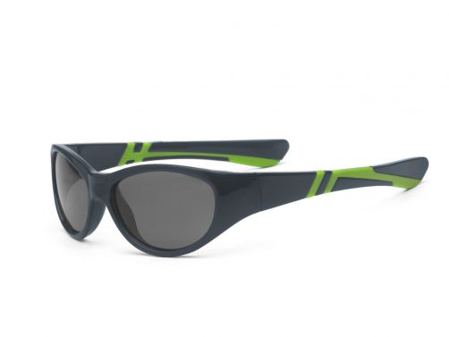 Real-Kids-Shades---UV-sunglasses-for-kids---Discover---Graphite-/-lime