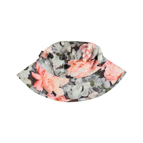 Molo - UV bucket hat for children - Nadia - Blossom print - Front